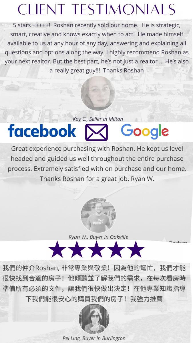Roshan Basnet Client Testimonials